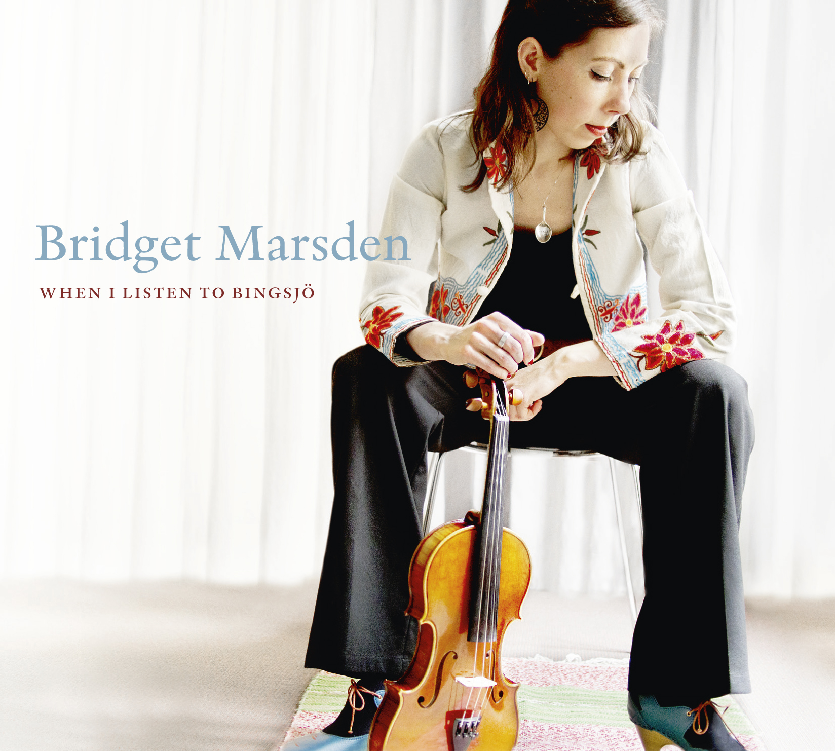 When I Listen To Bingsjö by Bridget Marsden_album cover