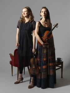 Elin Nilsson och Bridget Marsden